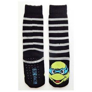 Ninja Turtles Leonardo Kids Slipper Socks